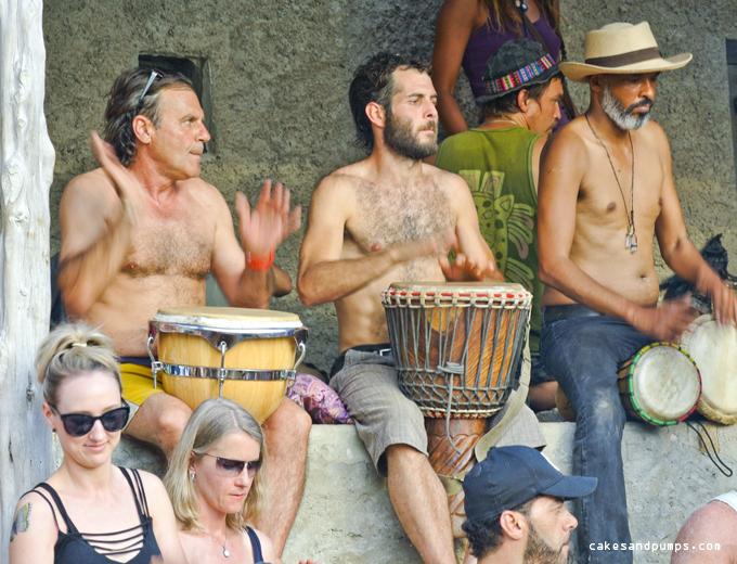 drum-players-cala-benirras-ibiza