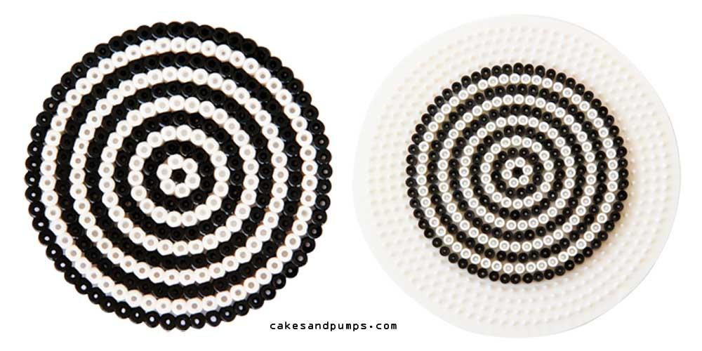 Coaster1, made of hama ironing beads
