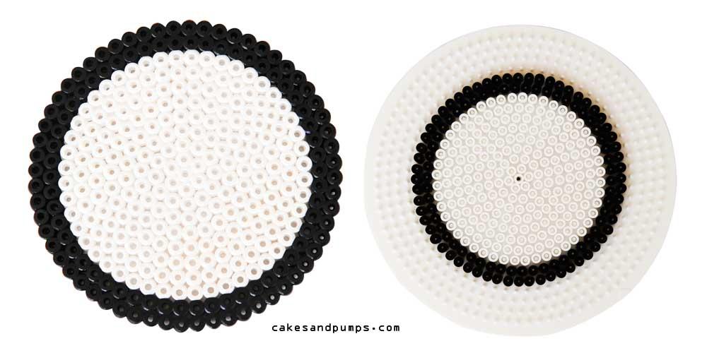 Coaster2, made of hama ironing beads