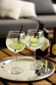 Gin-tonic-with-hendricks-gin-and-fentimans-tonic
