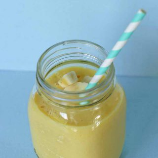 Mango banaan smoothie voor Sunday Smoothie