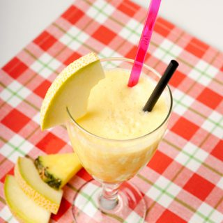 Sunday Smoothie: Melon Pineapple